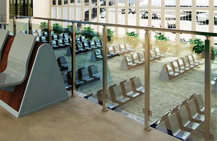 Алюминиевые балконные ограждения