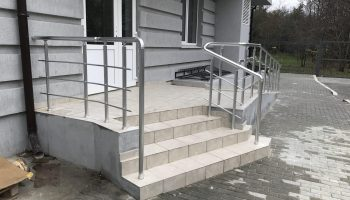 Лестничные ограждения