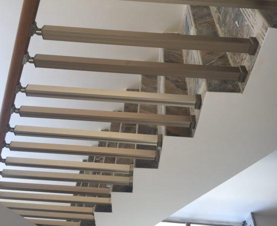 Как сделать металлическую лестницу без сварки
